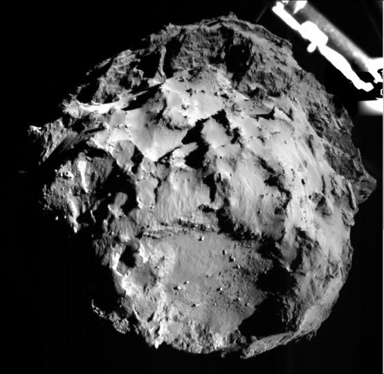 Photo du sol de la comète prise par Philae